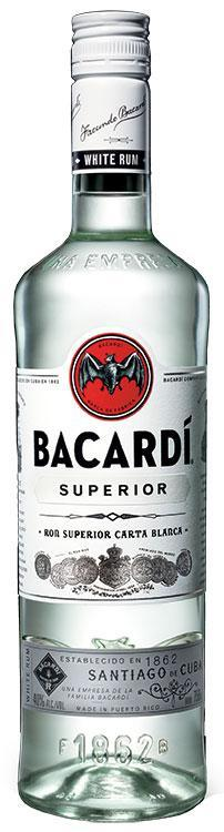 Bacardi Light 1L