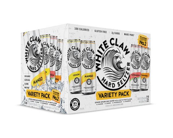 White Claw Variety Pack Flavor Collection #2 12pk Cans