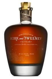 Kirk And Sweeney Rum 12 Yrs 750ml