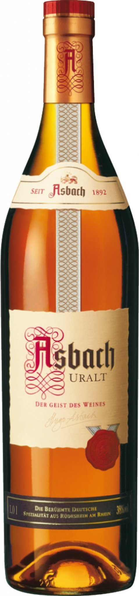 Asbach Uralt Brandy 3 Years 750ml