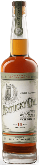 Kentucky Owl Straight Rye Whiskey 11 Years Batch 2 750ml