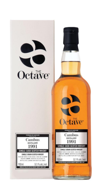 The Octave Cambus 25Yr 1991 750ml