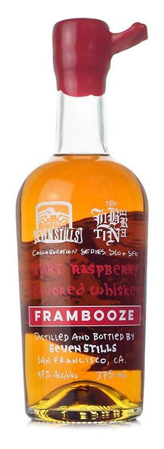 Seven Stills Frambooze Whiskey 375ml