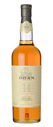 Oban 14 Year Old Single Malt Whisky 750ml
