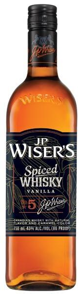 Wiser's Spiced Vanilla Whisky 750ml