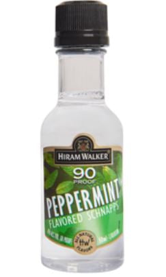 Hiram Walker Peppermint Schnapps 90 Proof 50ml