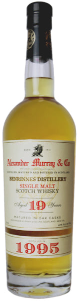 Alexander Murray & Co Benrinnes 1995 19yr 750ml