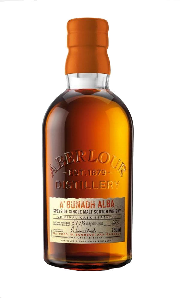 Aberlour A'bunadh Alba Single Malt Whisky 750ml