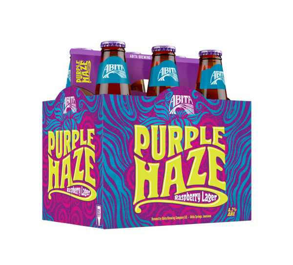 Abita Purple Haze Beer 6pk Btls