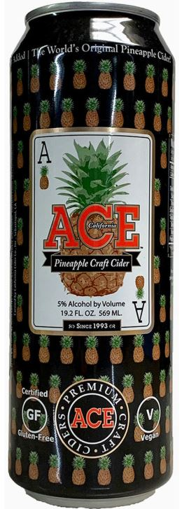 Ace Pineapple Cider 19.2oz Can