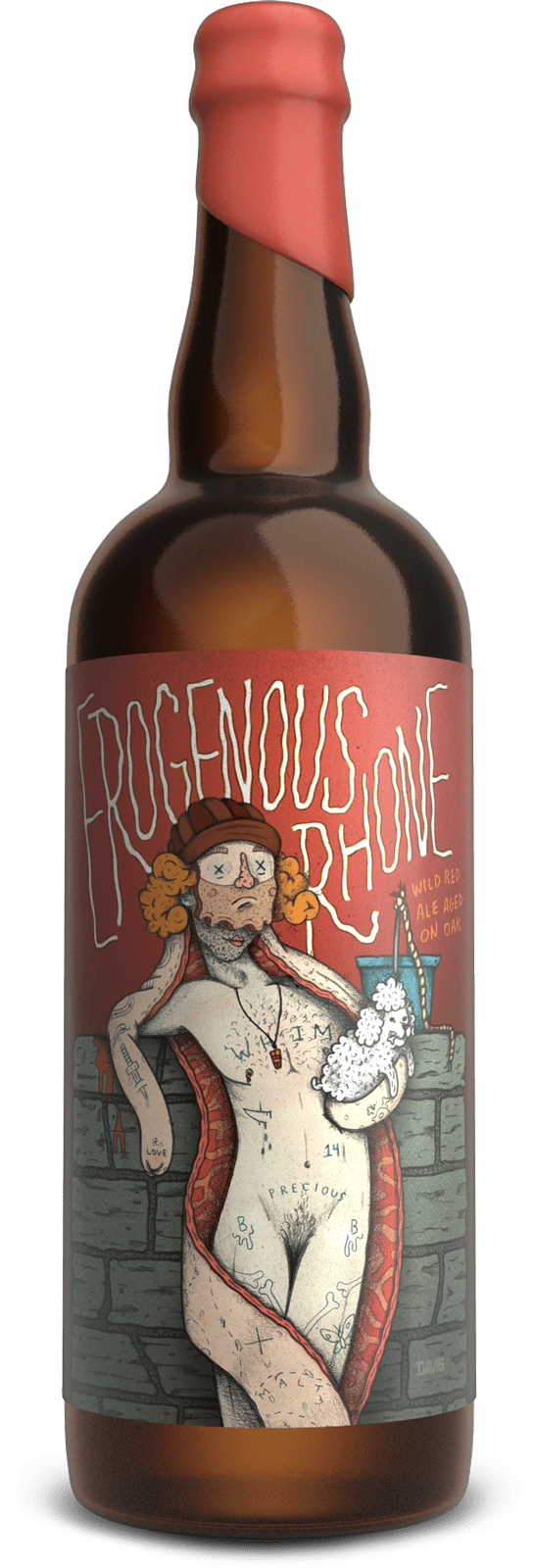 Against the Grain Erogenous Rhone Wild Ale 500mL Btl
