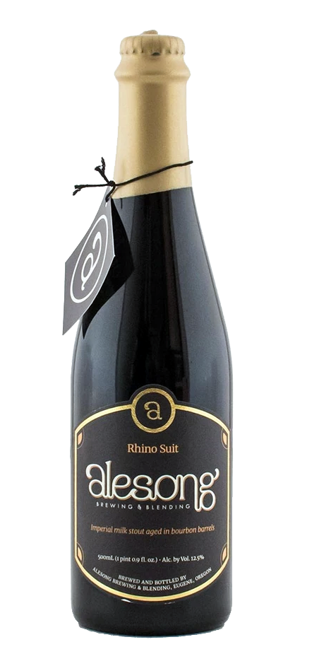 Alesong Rhino Suit BA Stout 500mL Btl
