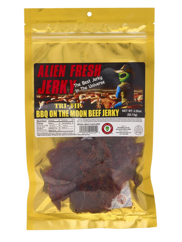 Alien Fresh Beef Jerky Barbeque on the Moon 3.25oz