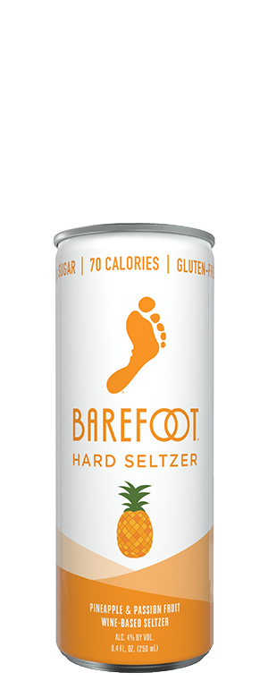 Barefoot Hard Seltzer Pineapple Passion 4pk Cans