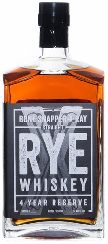 Backbone Snapper X-Ray Rye Whiskey 4Yr