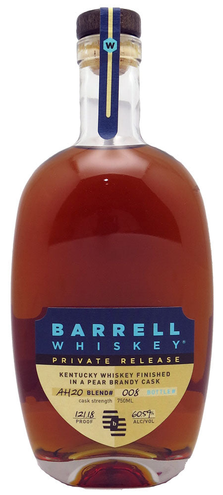 Barrell Private Release Pear Brandy Barrel Finished Whiskey 750ml