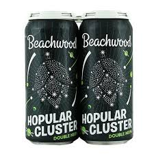 Beachwood Hopular Cluster Hazy DIPA 16oz Can