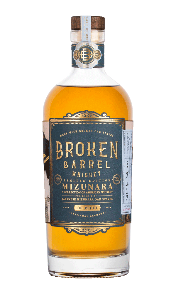 Broken Barrel Mizunara Single Oak Whiskey 750ml