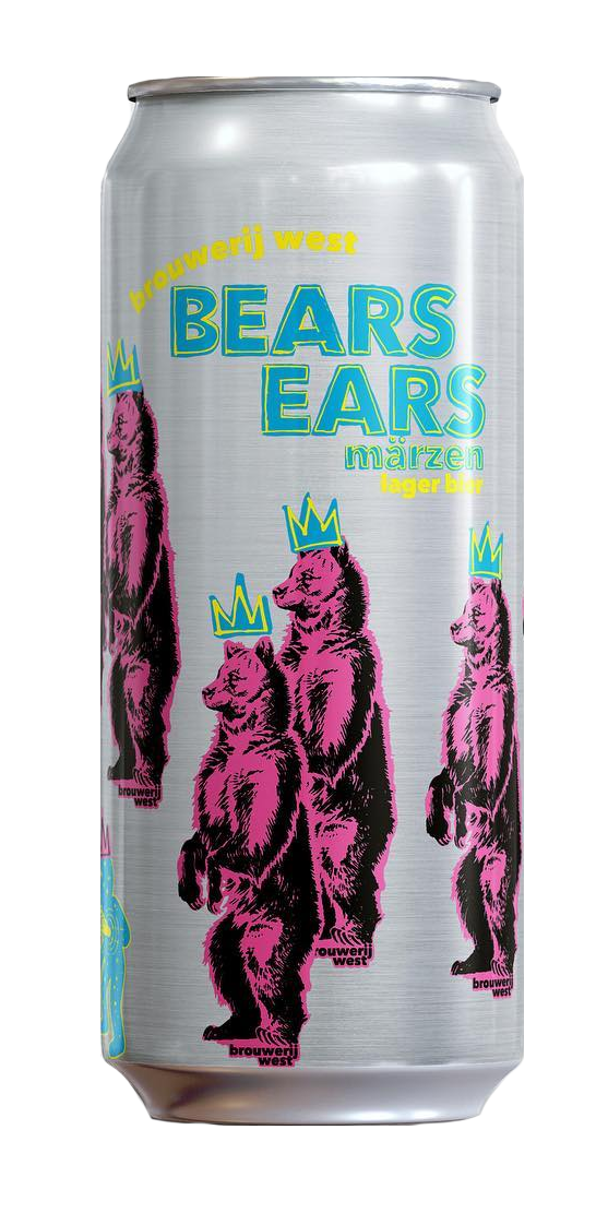Brouwerij West Bears Ears Marzen Lager 16oz Can