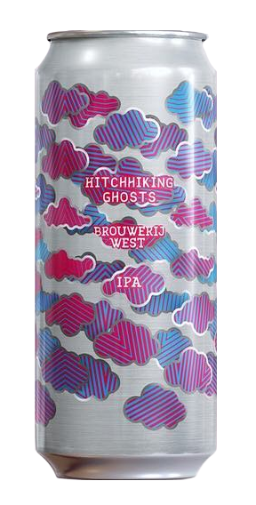Brouwerij West Hitchhiking Ghosts Hazy IPA 16oz Can