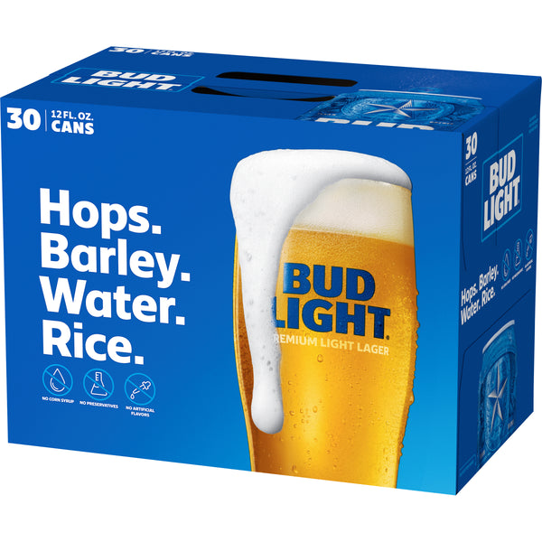 Bud Light 30pk Cans