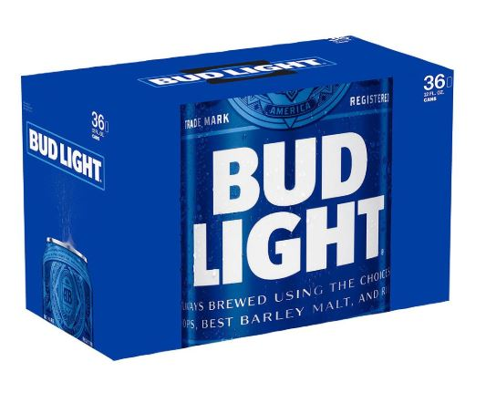 Bud Light 36pk Cans