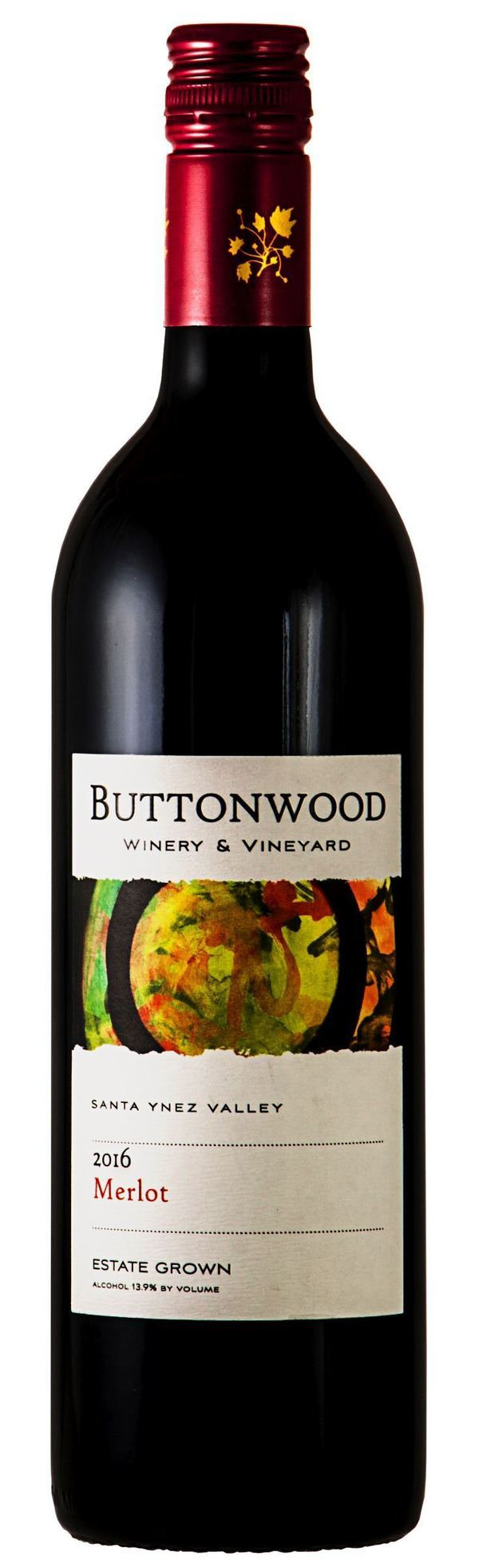 Buttonwood Santa Ynez Valley Merlot 2016 375ml