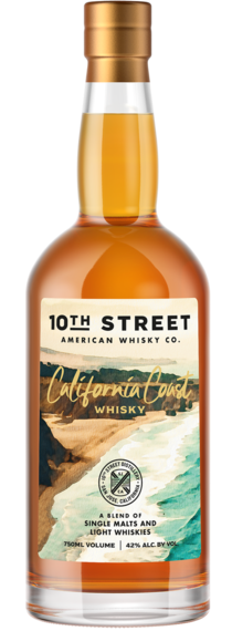 10th Street California Cost Blended Whisky 750ml
