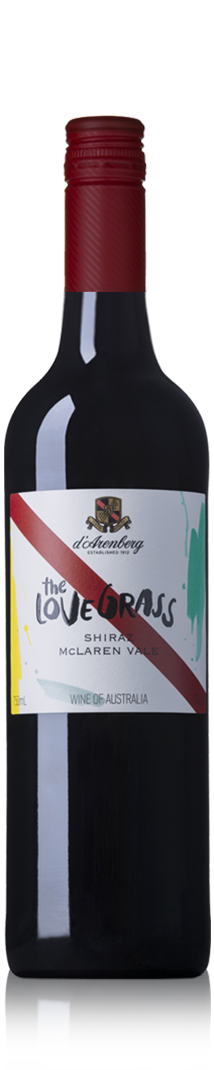 D'Arenberg McLaren Vale Love Grass Shiraz 2017 750ml