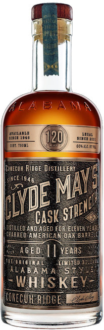 Clyde May's Cask Strength Alabama Style Whiskey 11Yr 750ml