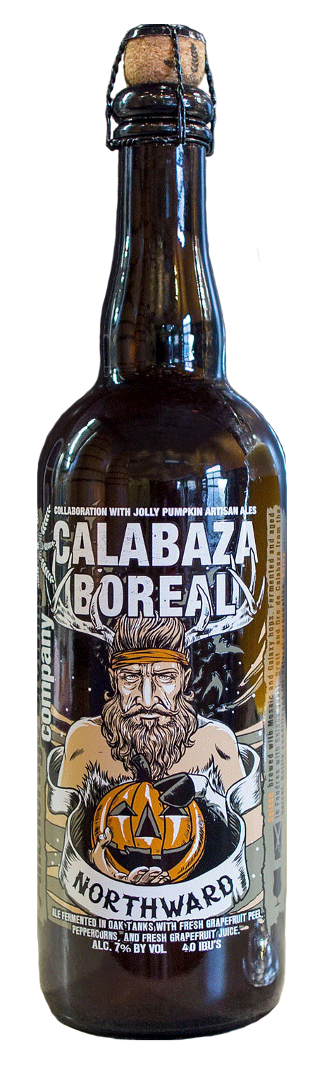 Anchorage Calabaza Boreal Grapefruit Saison 750ml