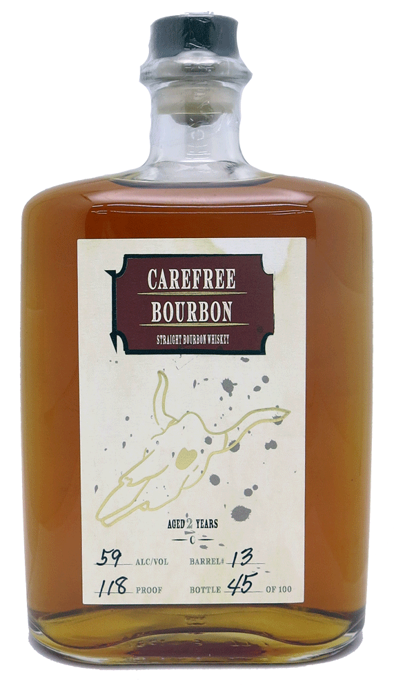 Carefree Barrel Proof Bourbon Whiskey  750ml