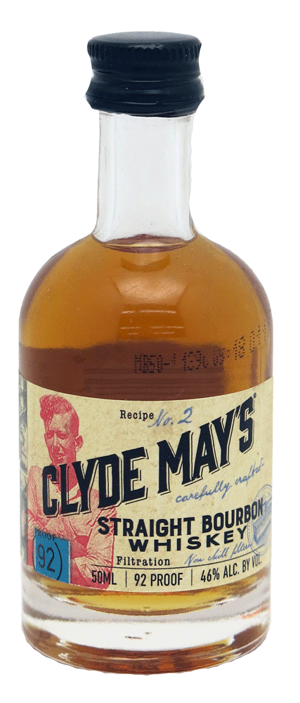 Clyde May's Straight Bourbon 50ml