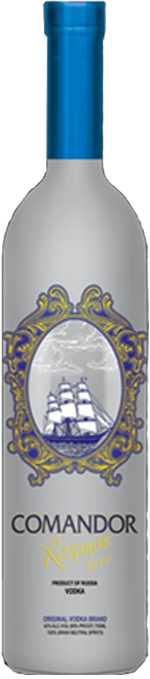 Comandor Rezanov Luxe Vodka 750ml
