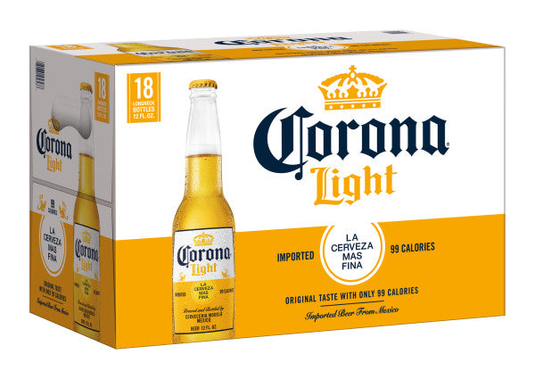 Corona Light 18pk Bottles