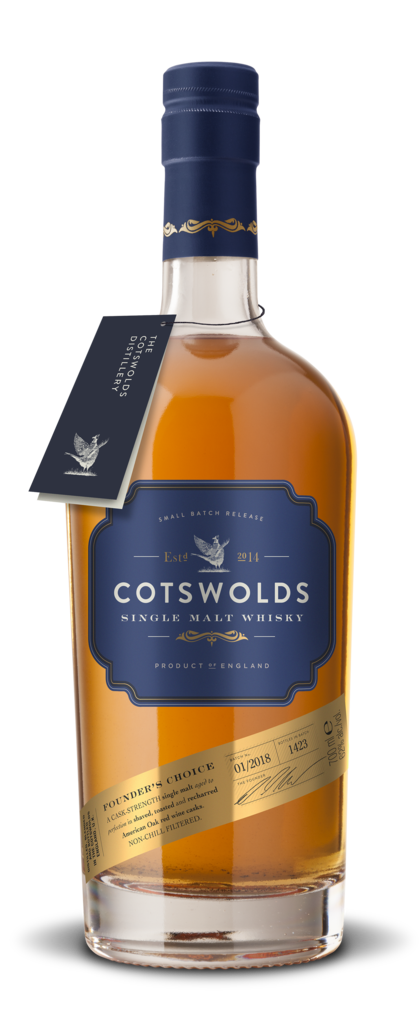 Cotswolds Founder's Choice Single Malt Whiskey 750ml