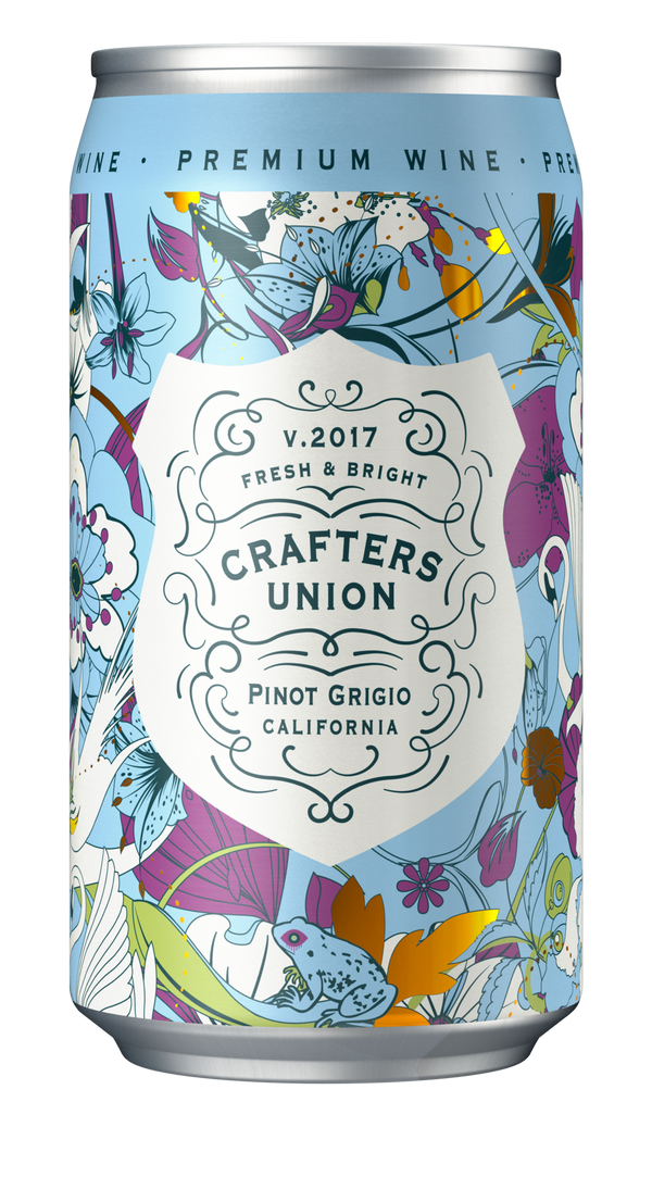 Crafters Union Pinot Grigio 375ml Can