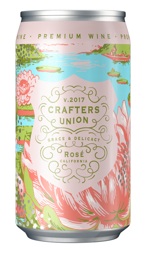 Crafters Union Rose 375ml Can