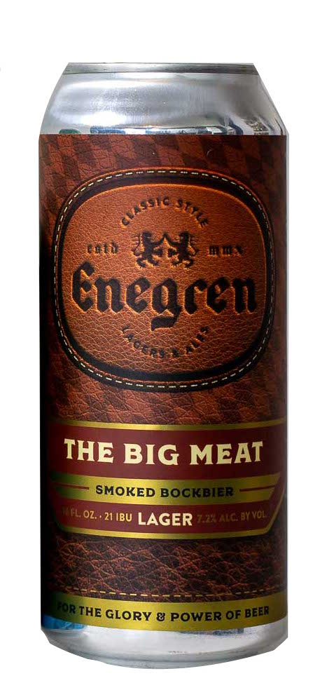 Enegren The Big Meat Rauchbier 16oz 4pk Cans