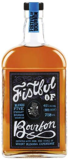 Fistful of Bourbon Straight Bourbon Whiskey 750ml