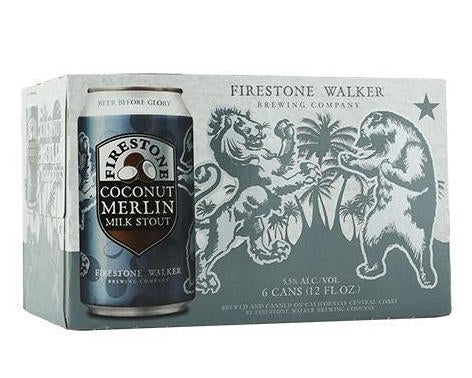 Firestone Coconut Merlin Milk Stout 6pk Cans