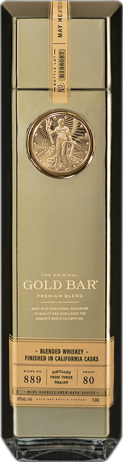 Gold Bar American Whiskey 750ml