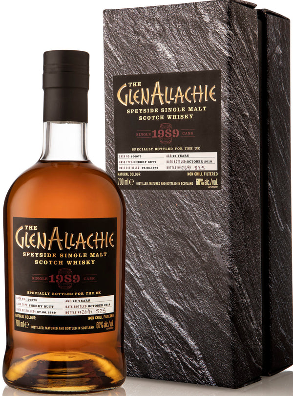 Glenallachie 1989 29 Year Old Single Sherry Cask #2510 Single Malt Whisky 750ml