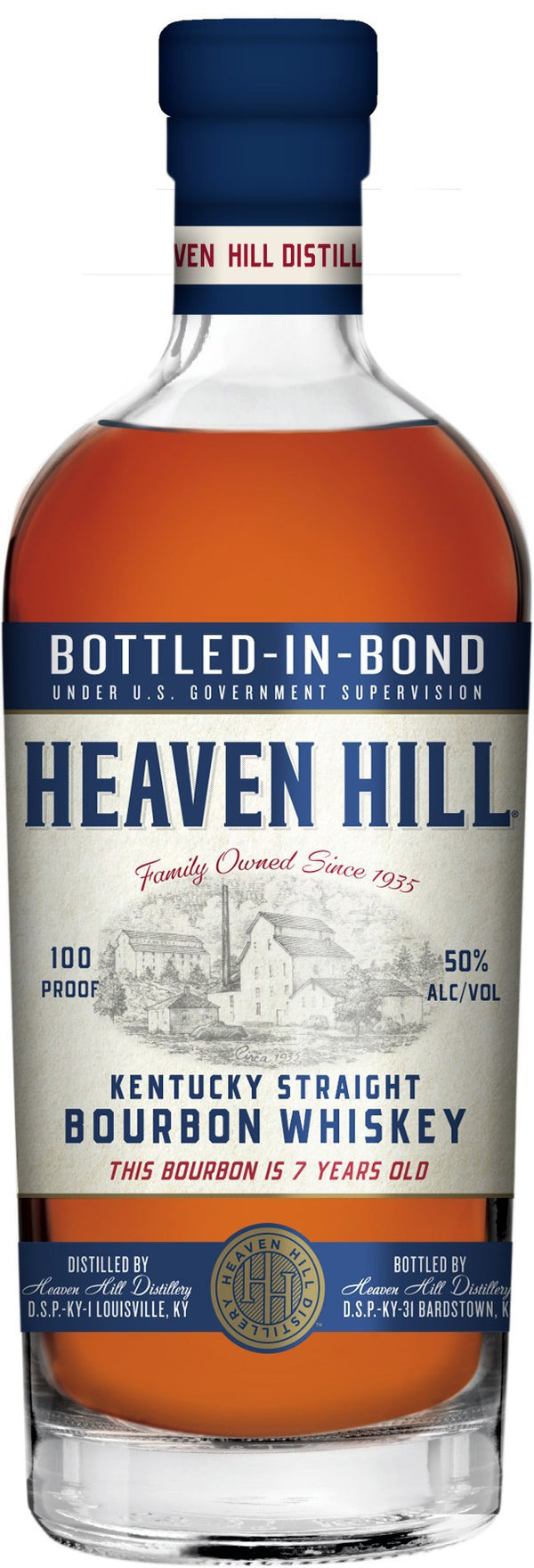 Heaven Hill Straight Bourbon 7 Year 750ml