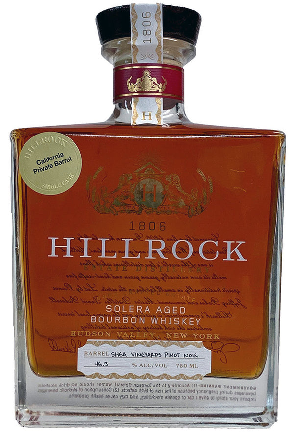 Hillrock Solera Bourbon Pinot Noir Finish 750ml