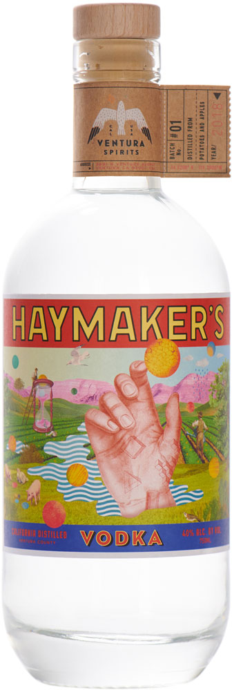 Ventura Spirits California Haymaker's Vodka 750ml