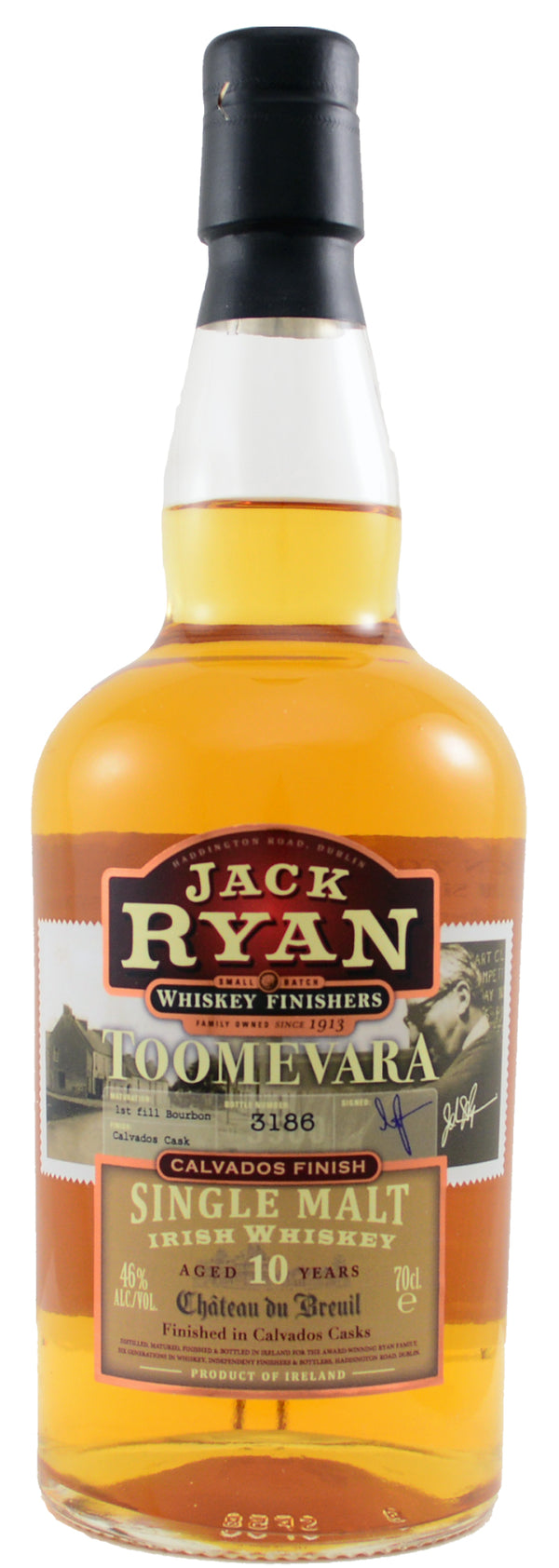 Jack Ryan Troomevara Irish Single Malt 10 Yrs 750ml