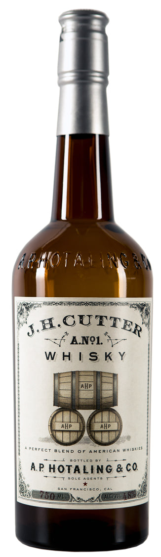 JH Cutter Whiskey 750ml