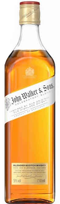 Johnnie Walker Celebratory Blend 200th Anniversary Blended Scotch Whisky 750ml
