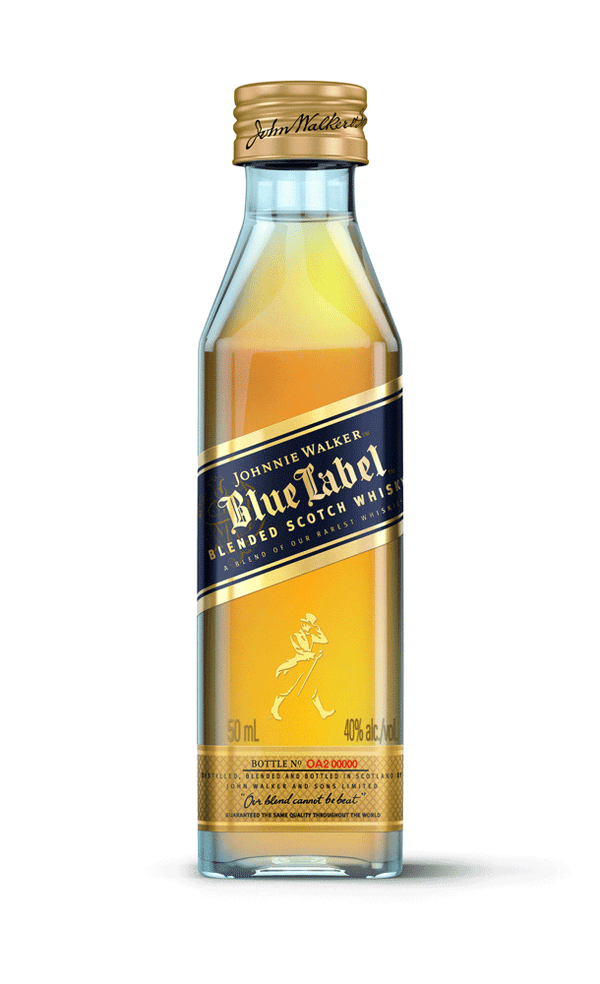Johnnie Walker Blue Blended Scotch Whisky 50ml